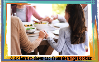 Table Blessings Booklet